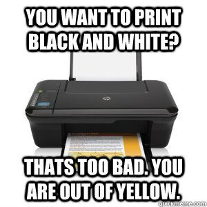 Printer Issues
